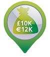 €10,000 cash protection or €100,000 valuables